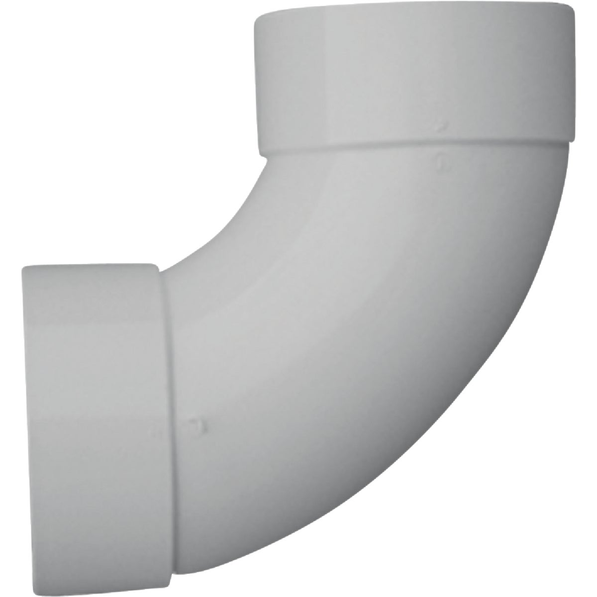 "6"" 90D S&D PVC SAN ELBOW - 42860 by Genova Inc"
