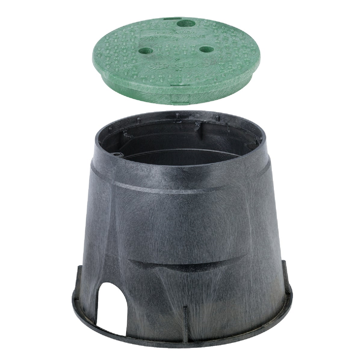"10"" ROUND VALVE BOX - 111BC by National Diversified"