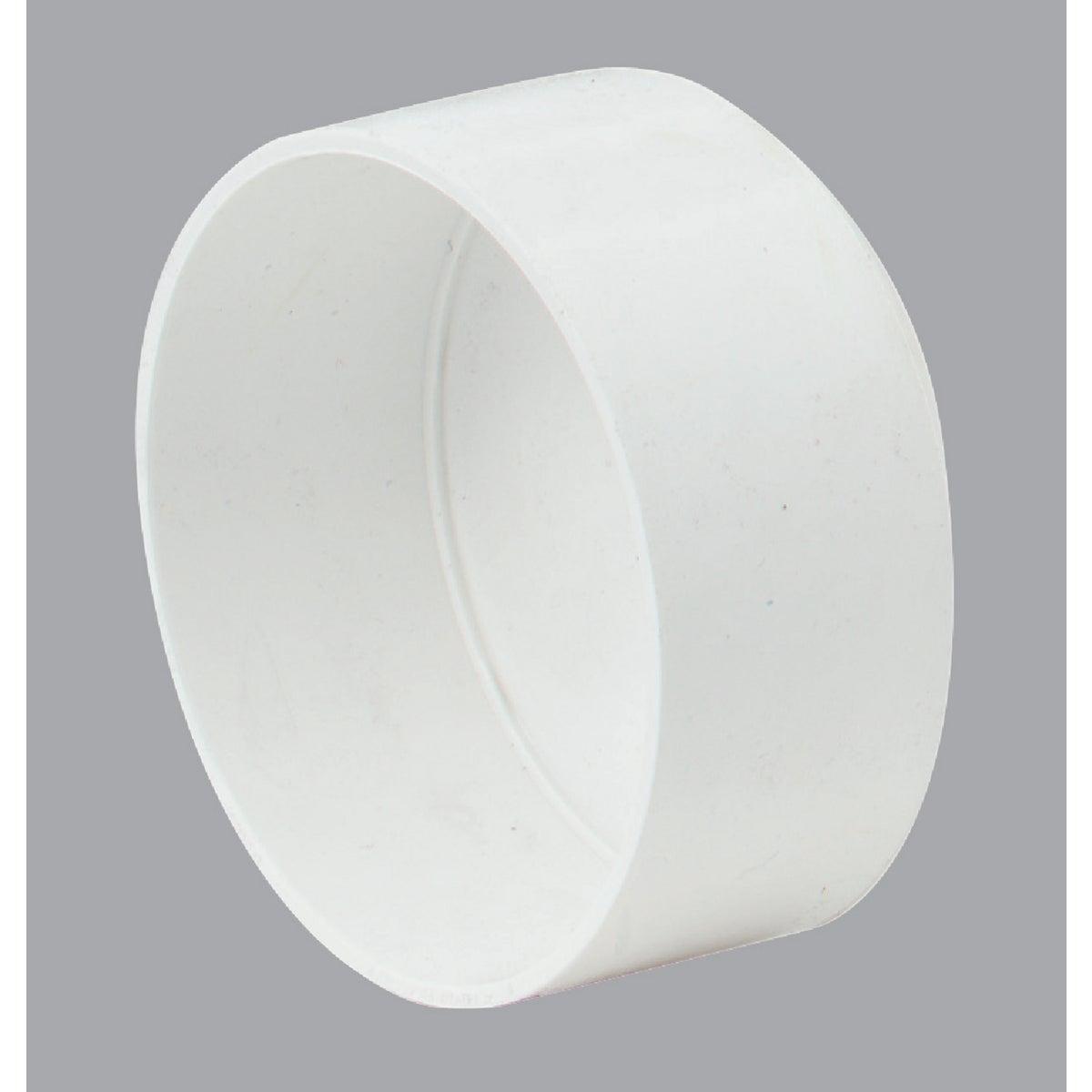 """6"""" S&D PVC CAP"""