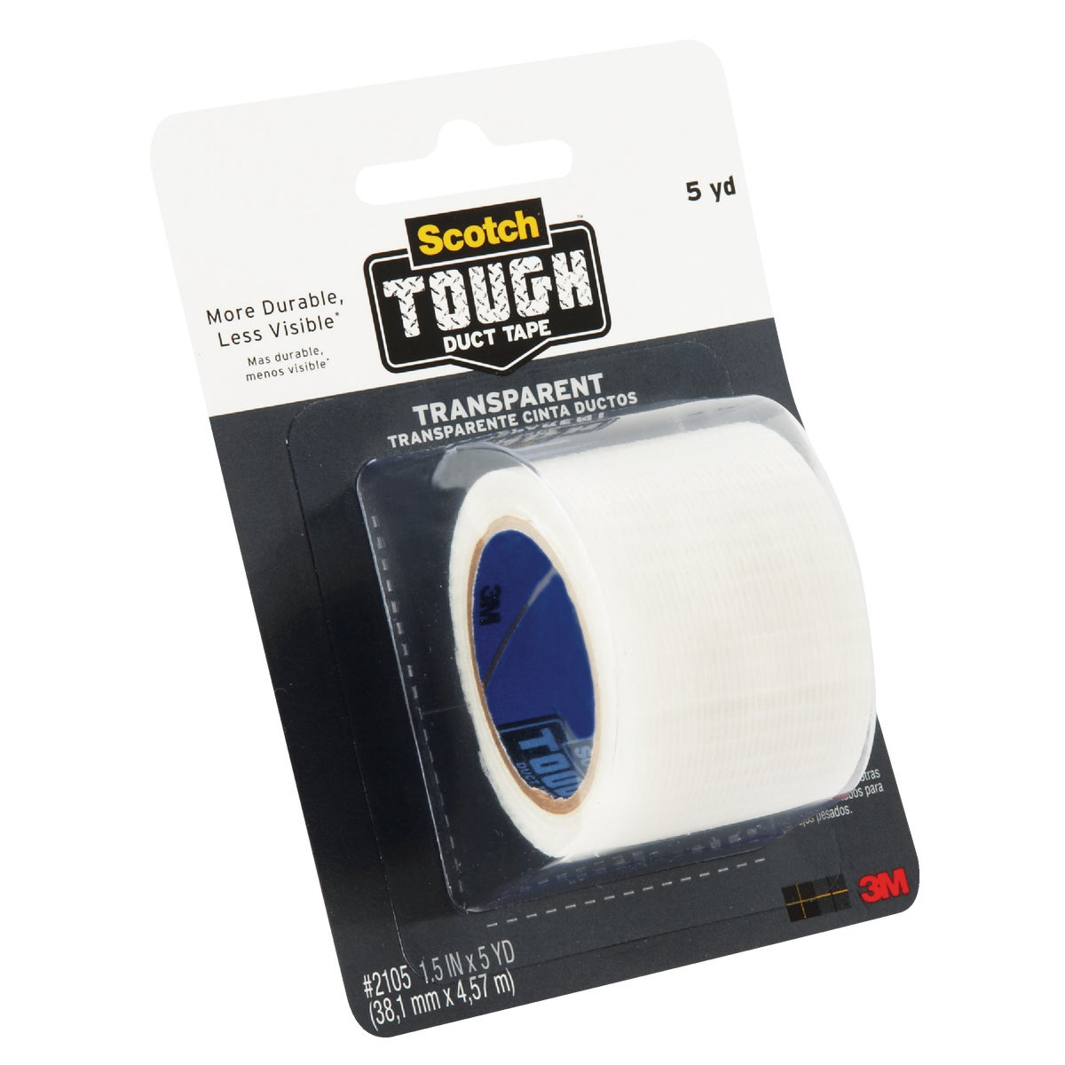 1.5X4 TRANSPAR DUCT TAPE