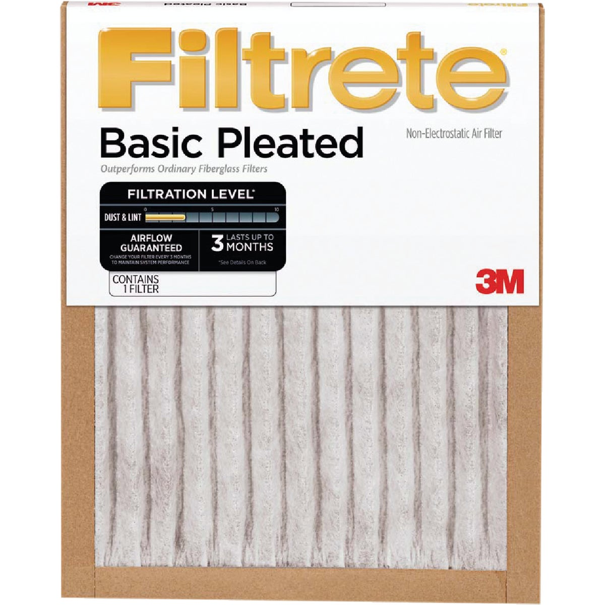3M Filtrete 20 In. x 30 In. x 1 In. Basic Pleated 250 MPR Furnace Filter