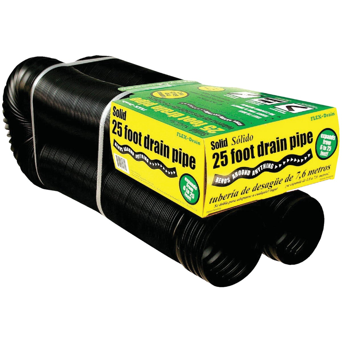 Cleveland Tubing Inc 25' SOLID FLEX PIPE 50110
