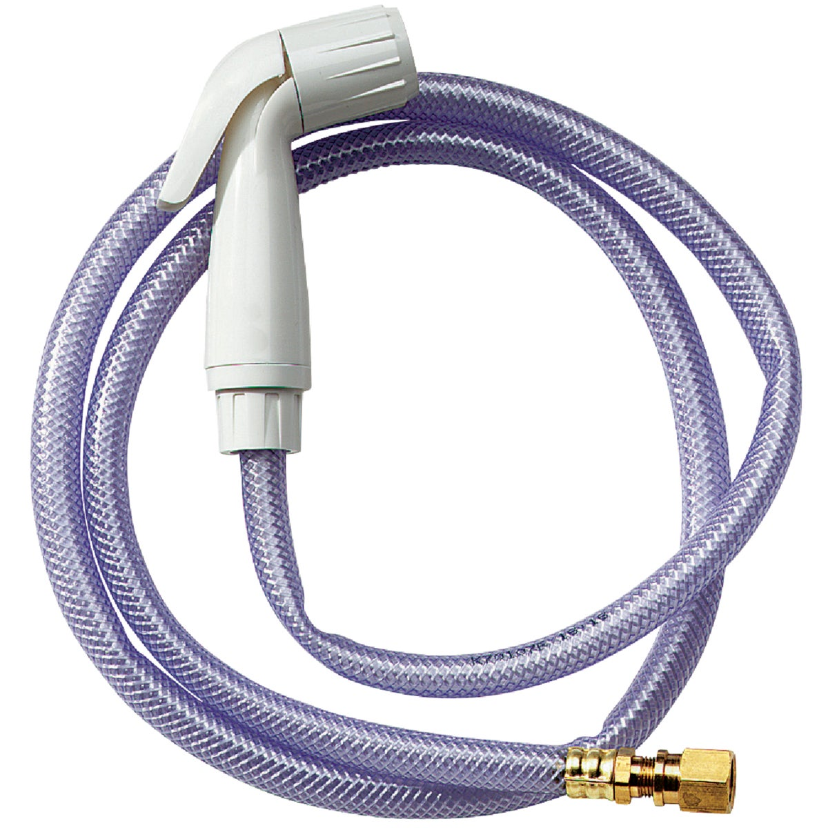4' WHT KITCHN SPRAY HOSE - W-1317LF by Do it Best