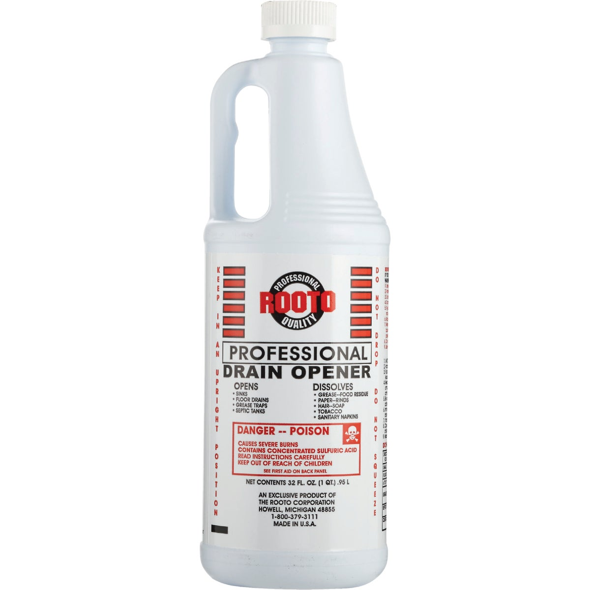 32OZ DRAIN CLEANER - 1071 by Rooto Corp