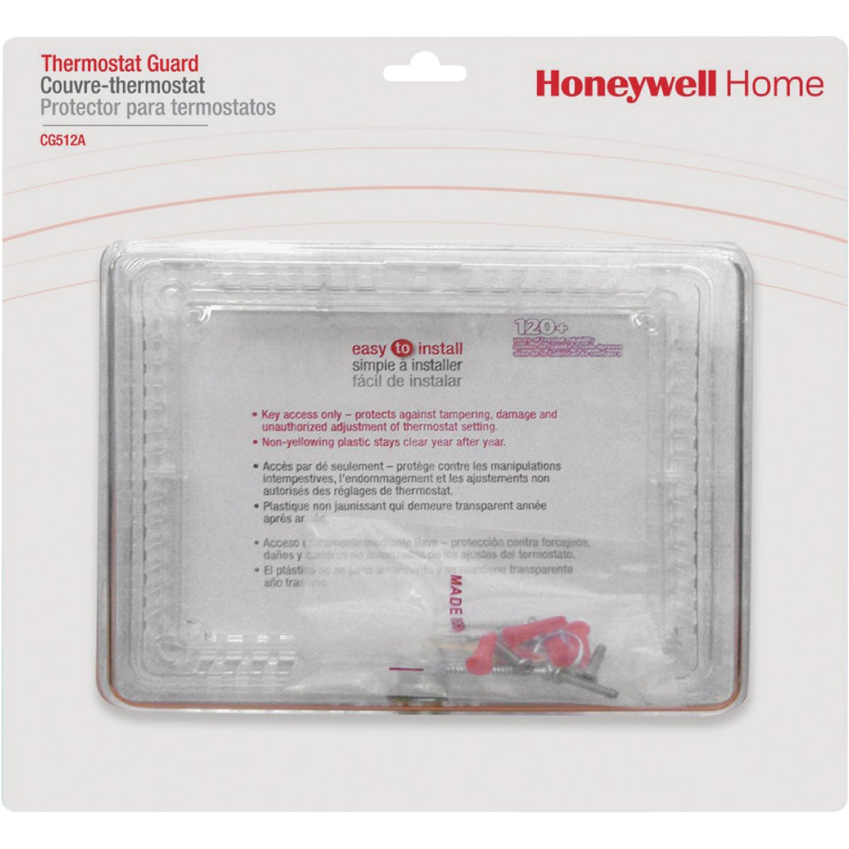 LG THERMSTAT COVER/GUARD - CG512A1009 by Honeywell Internatl