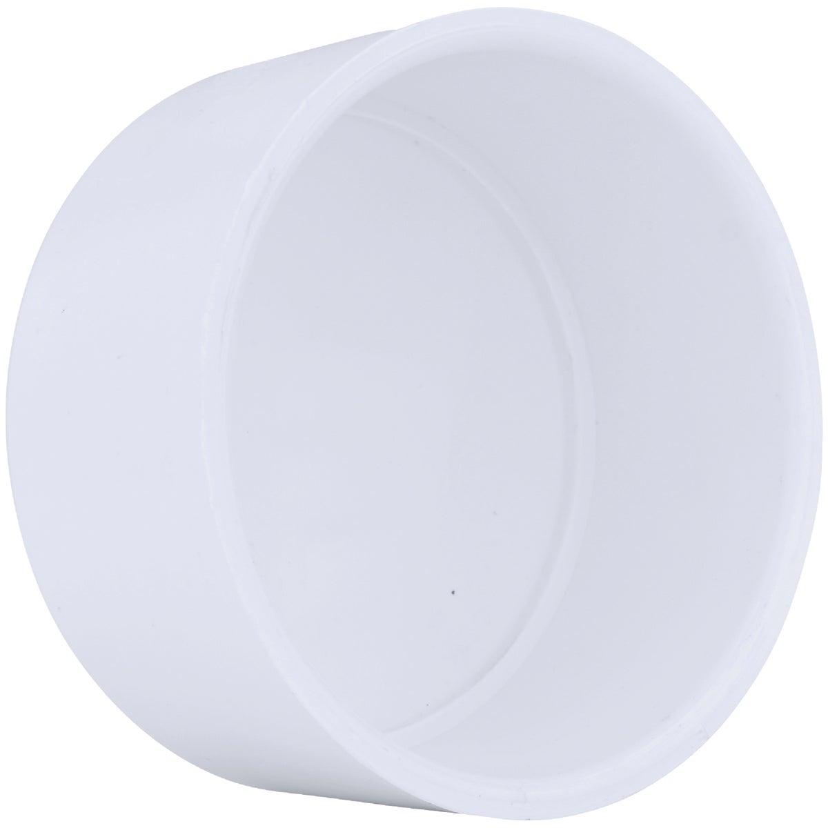 "4"" PVC SCH40 SLIP CAP - 30154 by Genova Inc"