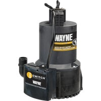 Wayne 1/4 H.P. Energy Efficient Submersible Automatic Sensor Utility Pump, EEAUP250