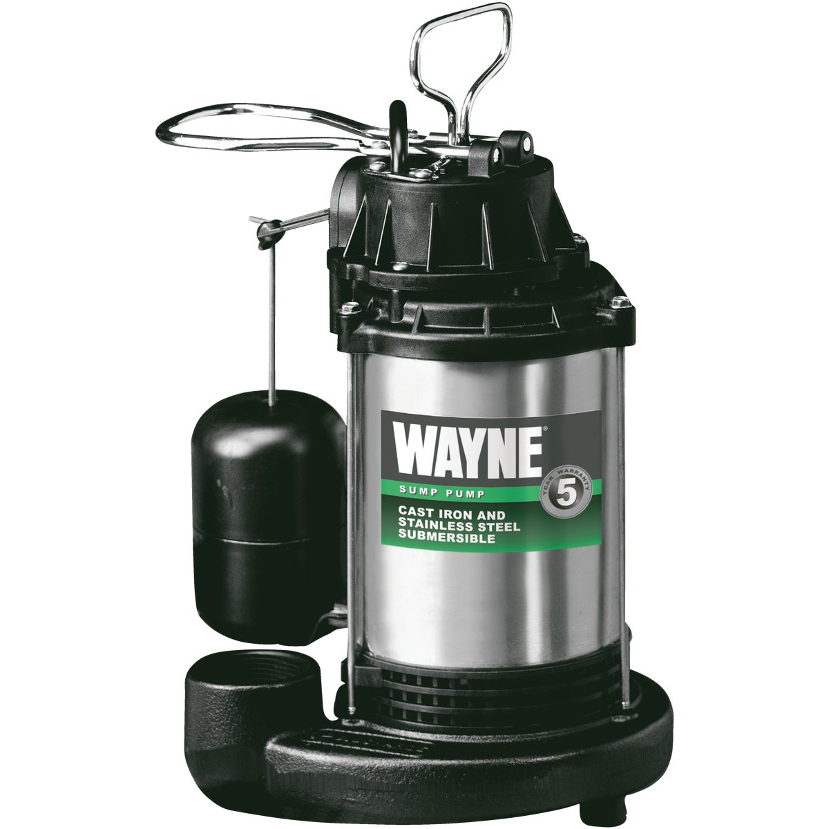 3/4HP CAST/SS SUMP PUMP - CDU980E by Wayne Water Systems
