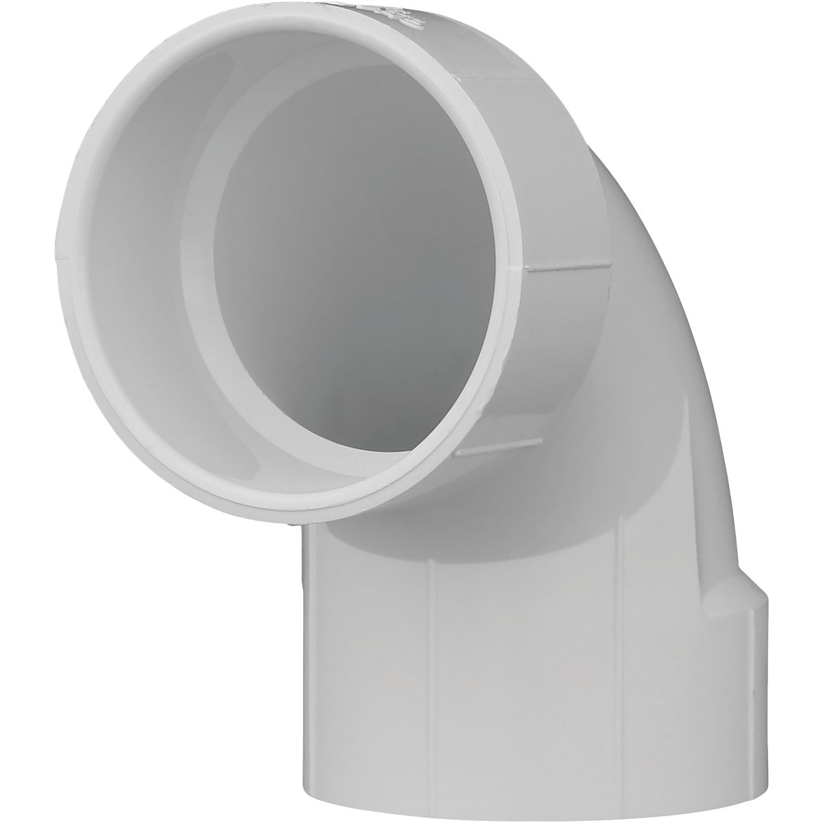 "3"" 90D DWV SANITRY ELBOW - 72830 by Genova Inc  Pvc Dwv"