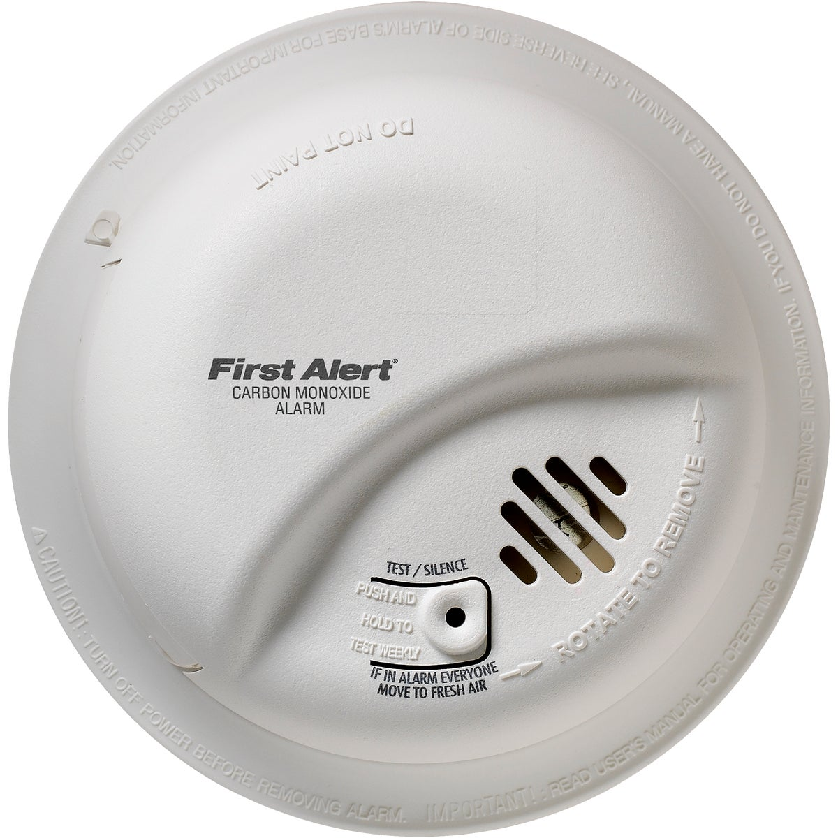 First Alert/Jarden HARDWIRE CO DETECTOR CO512OBN