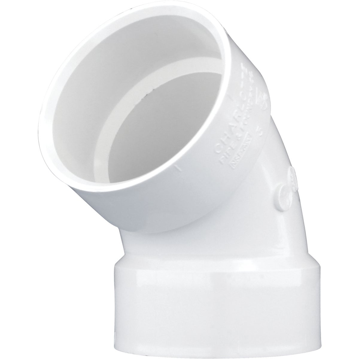 "3"" 60D PVC-DWV ELBOW - 70930 by Genova Inc  Pvc Dwv"