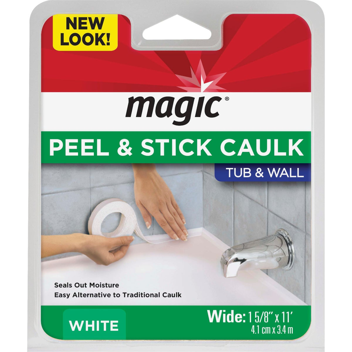 "1-5/8""X11'WHT SEALERTRIM - MC406T by Magic Ntrl Magic Sci"