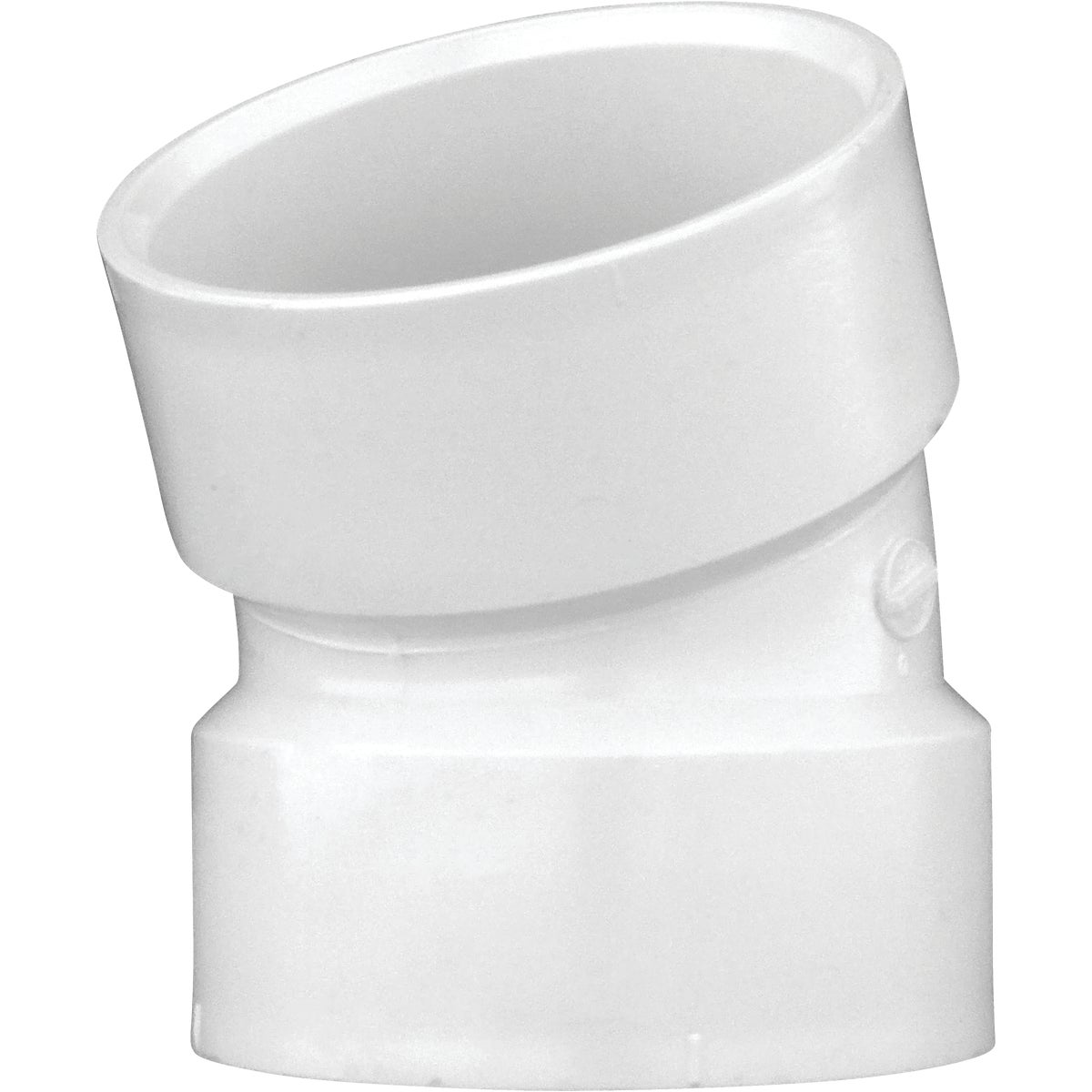 "3"" 22-1/2D PVC-DWV ELBOW - 70830 by Genova Inc  Pvc Dwv"