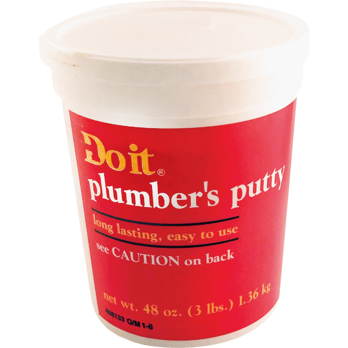 3LB PLUMBERS PUTTY - 043057 by Wm H Harvey Co