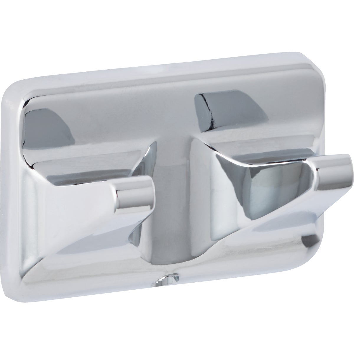 CHROME DOUBLE ROBE HOOK - 408918 by Do it Best