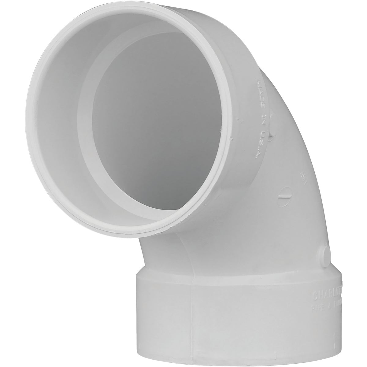 "4""90D DWV SANITARY ELBOW - 72840 by Genova Inc  Pvc Dwv"