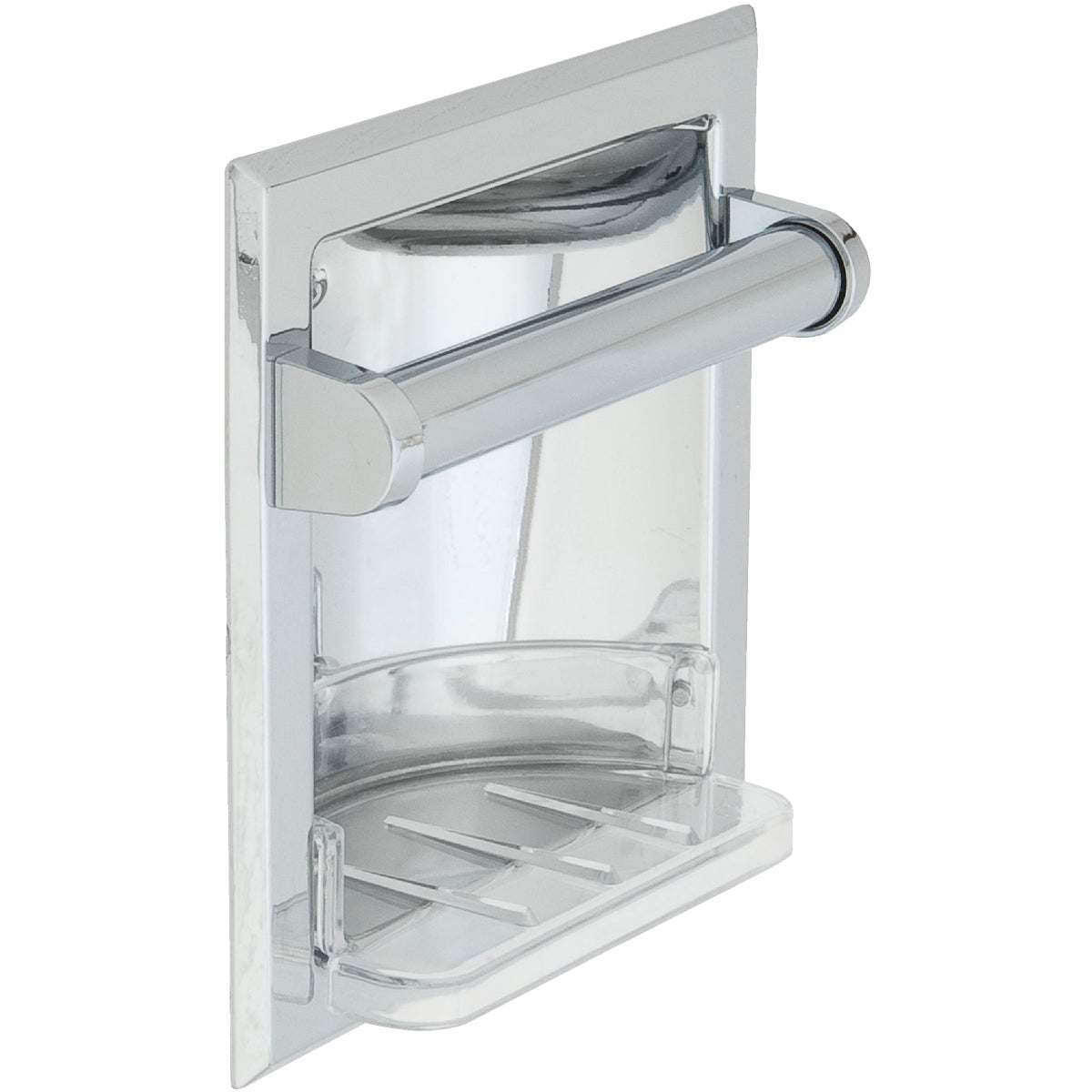 Chrme Recessed Soap Dish