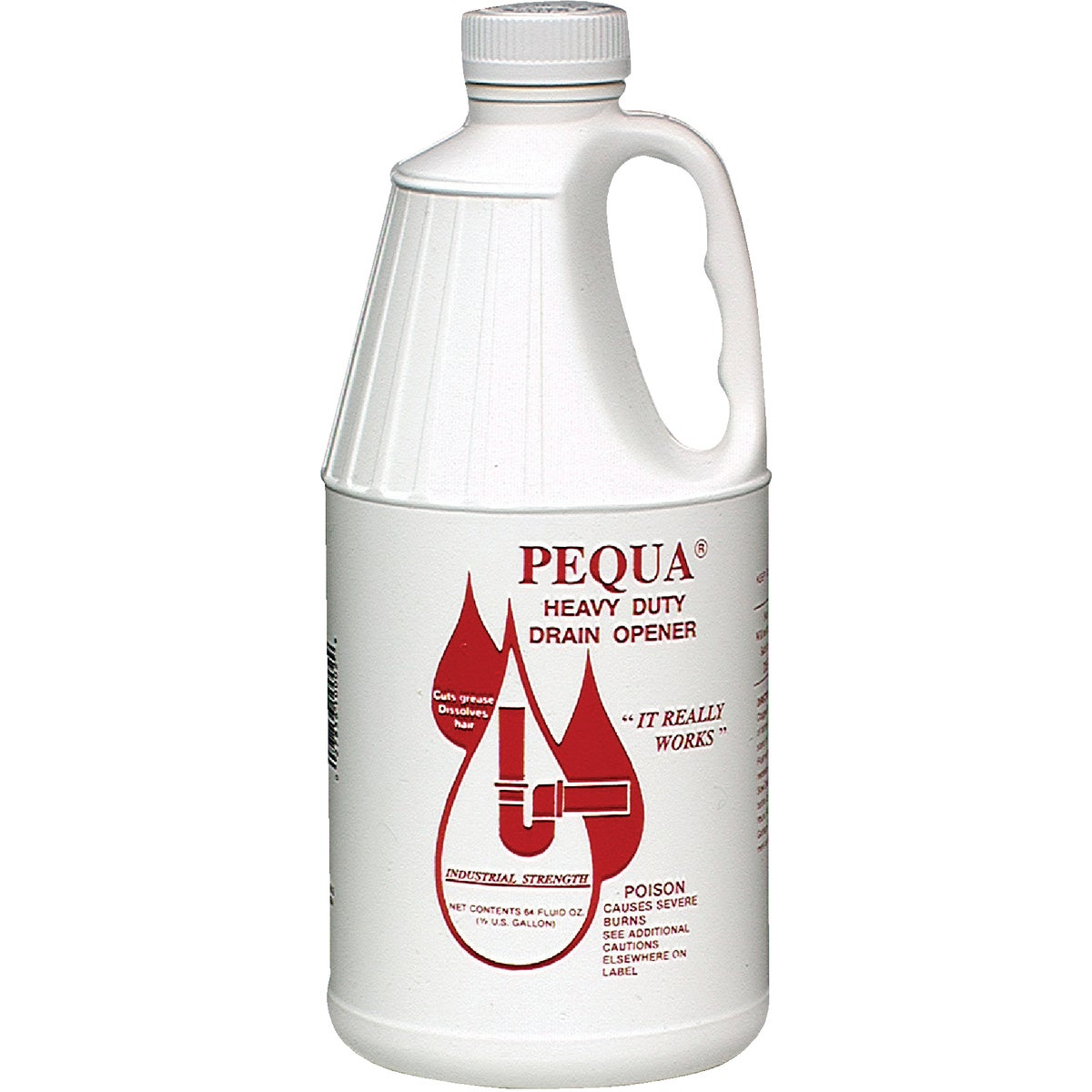 1/2-GAL HD DRAIN OPENER - P-10264 by Pequa Industries Inc