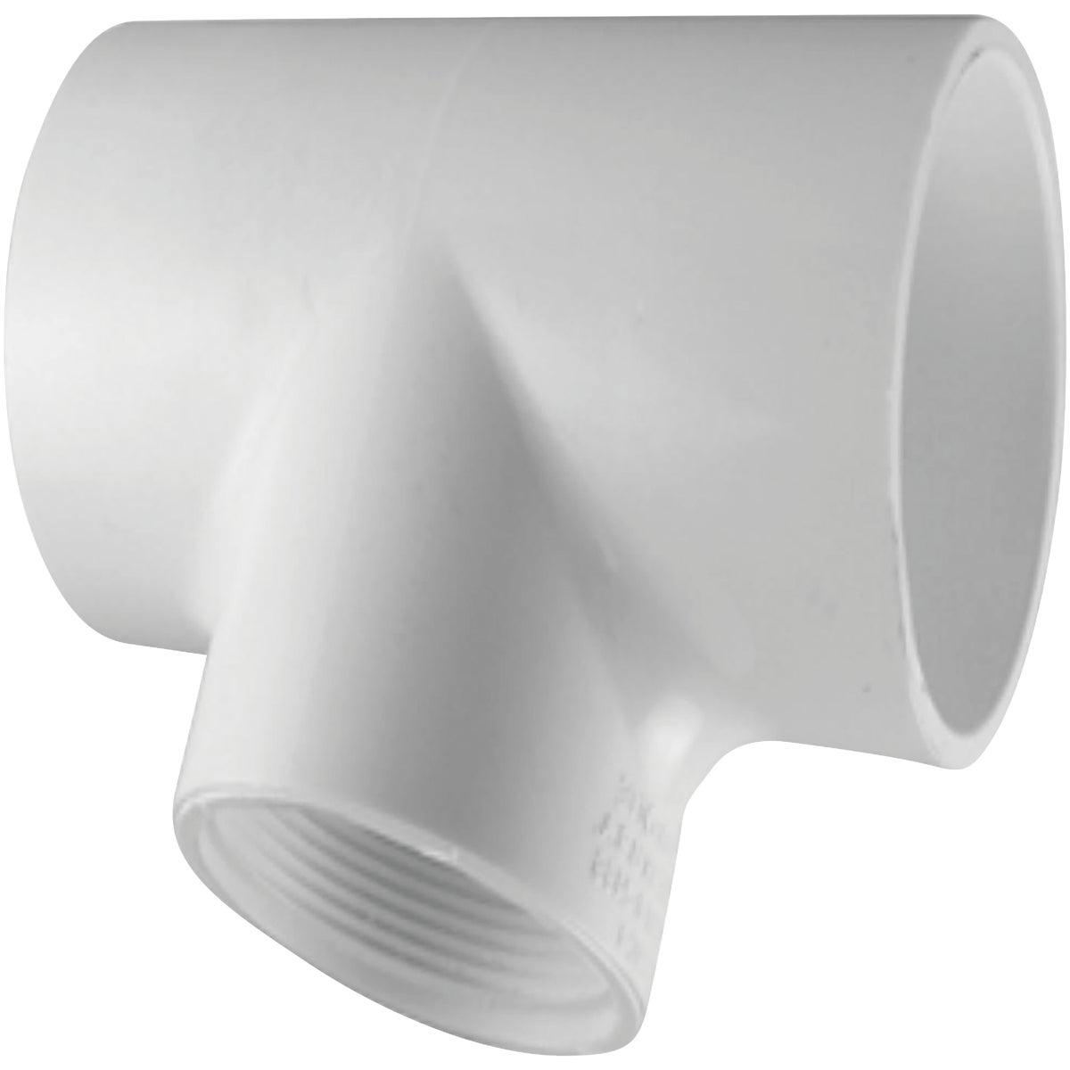 "1"" SCH40 PVC SXFIP TEE"
