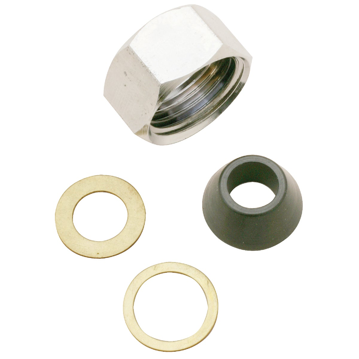 1/2X3/8 SJ NUT SET - 411566 by Plumb Pak/keeney Mfg