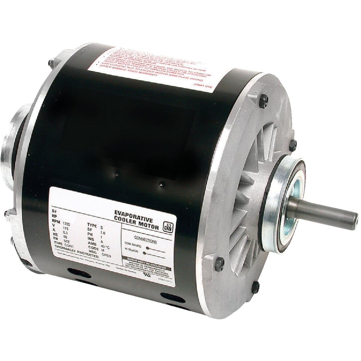 3/4HP 1 SPEED MOTOR