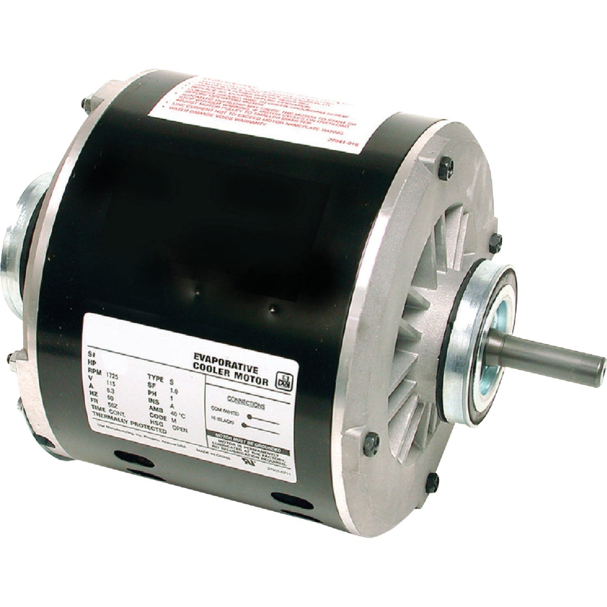 MOTOR 1/3HP 1 SPEED - 2201 by Dial Manufacturing