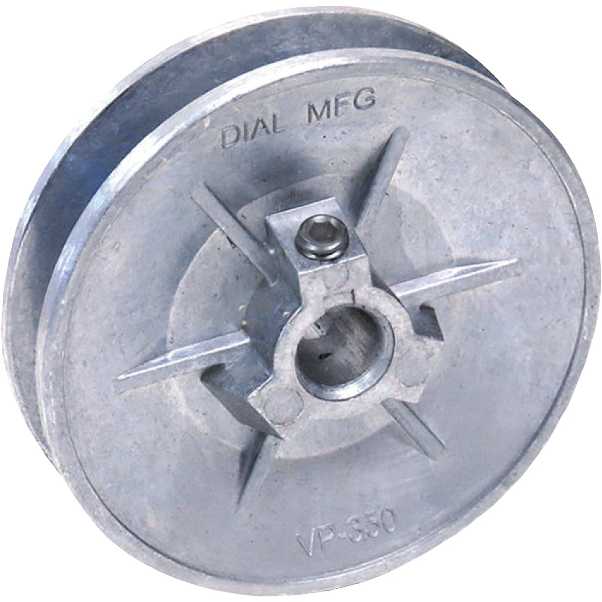 "3-1/4"" ADJ PULLEY - 6123 by Dial Manufacturing"
