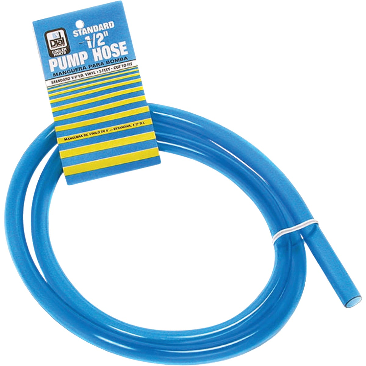 "1/2""X5' CLEAR PUMP HOSE"