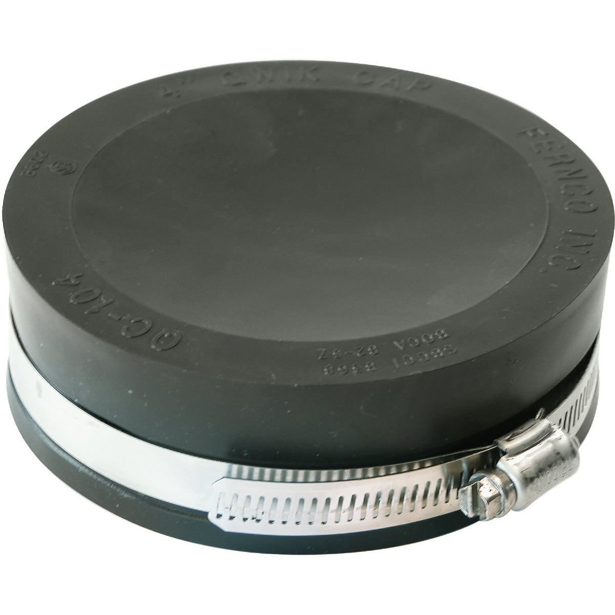 "4"" FLEXIBLE PIPE CAP - PQC-104 by Fernco Inc"