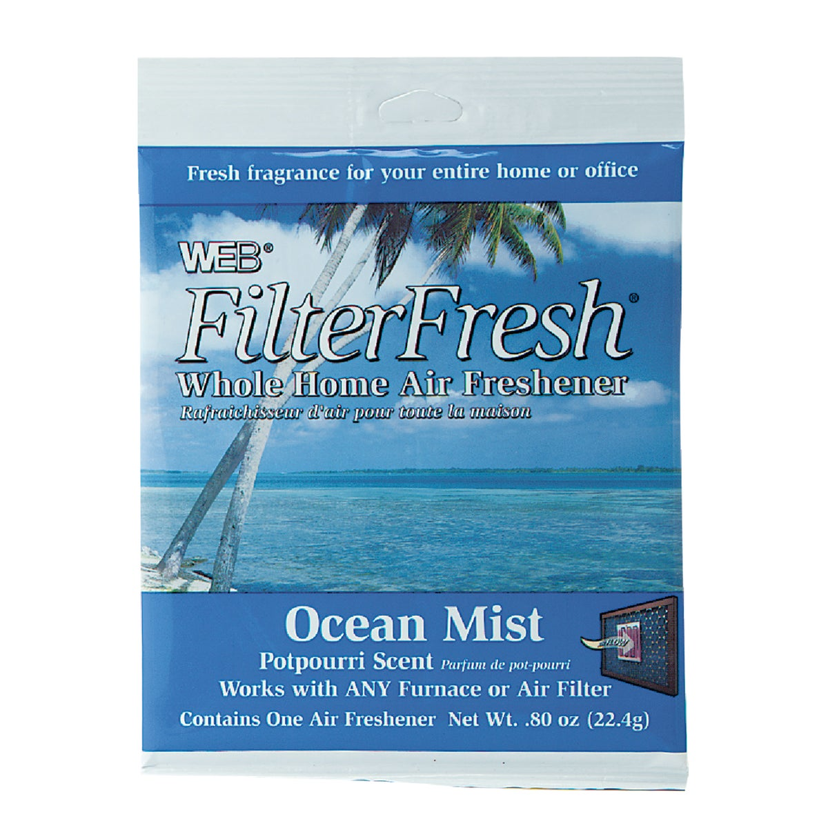 OCEAN FLTR AIR FRESHENER - WOCEAN by Web Products Inc