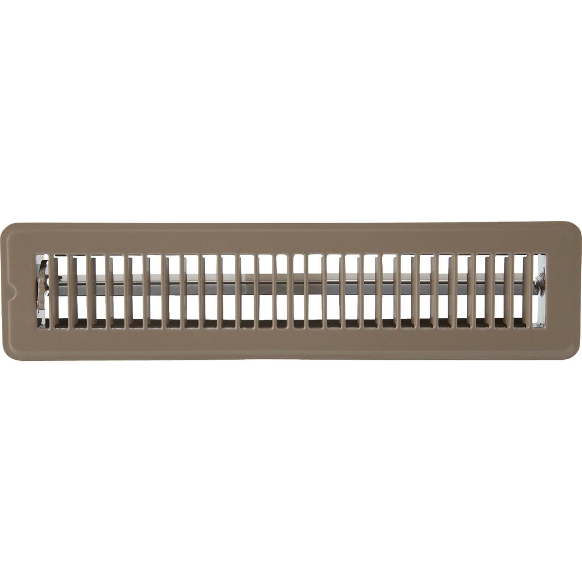 Home Impressions Steel Floor Register, 1FL0214BR-NH