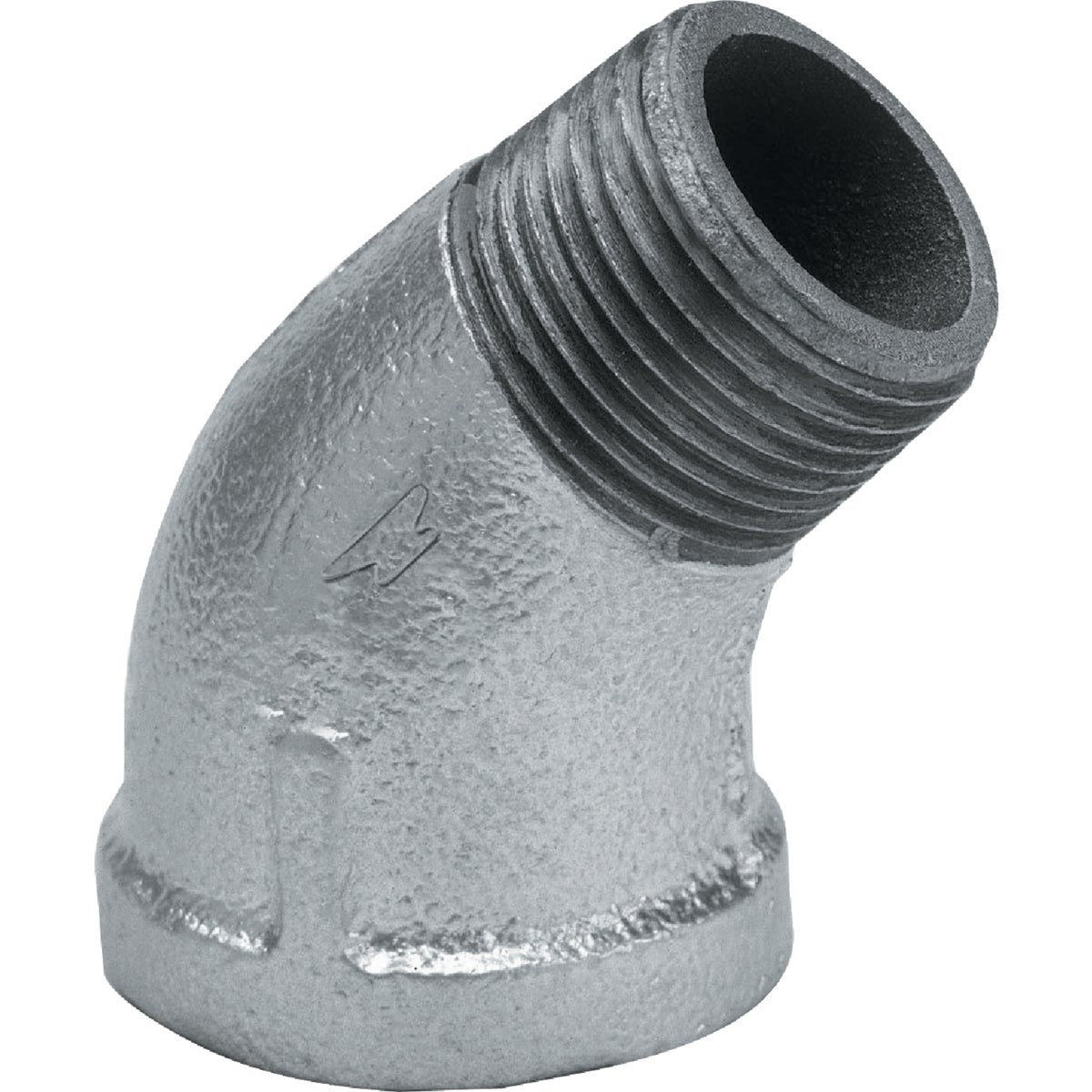 "1-1/4"" 45D GALV ST ELBOW - 8700128658 by Anvil International"