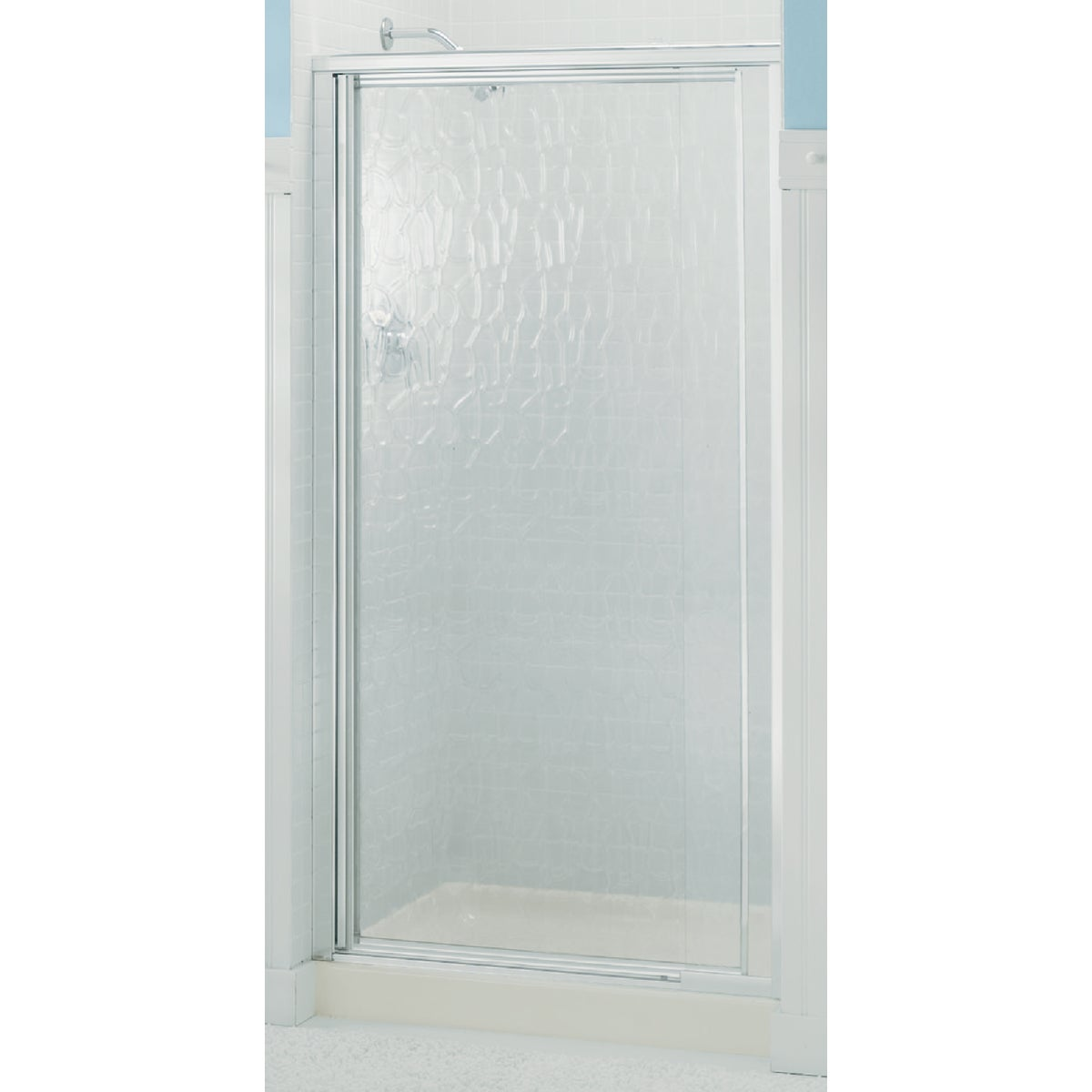 Sterling SILVER PIVOT SHOWER DOOR 1500D-27S