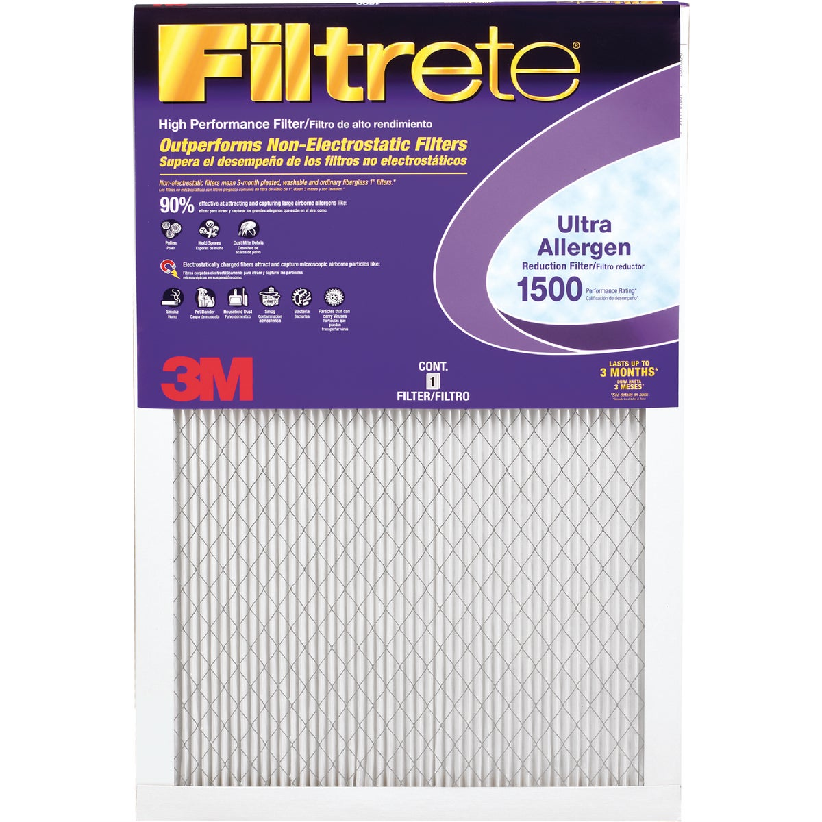 24X30X1 ALLERGEN FILTER - 2013DC-6 by 3m Co