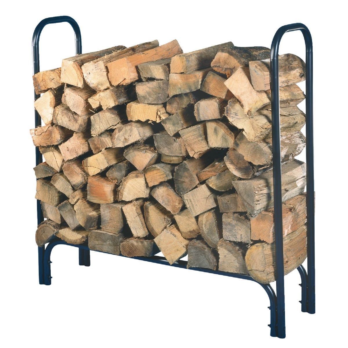BLACK TUBE 4' LOG RACK