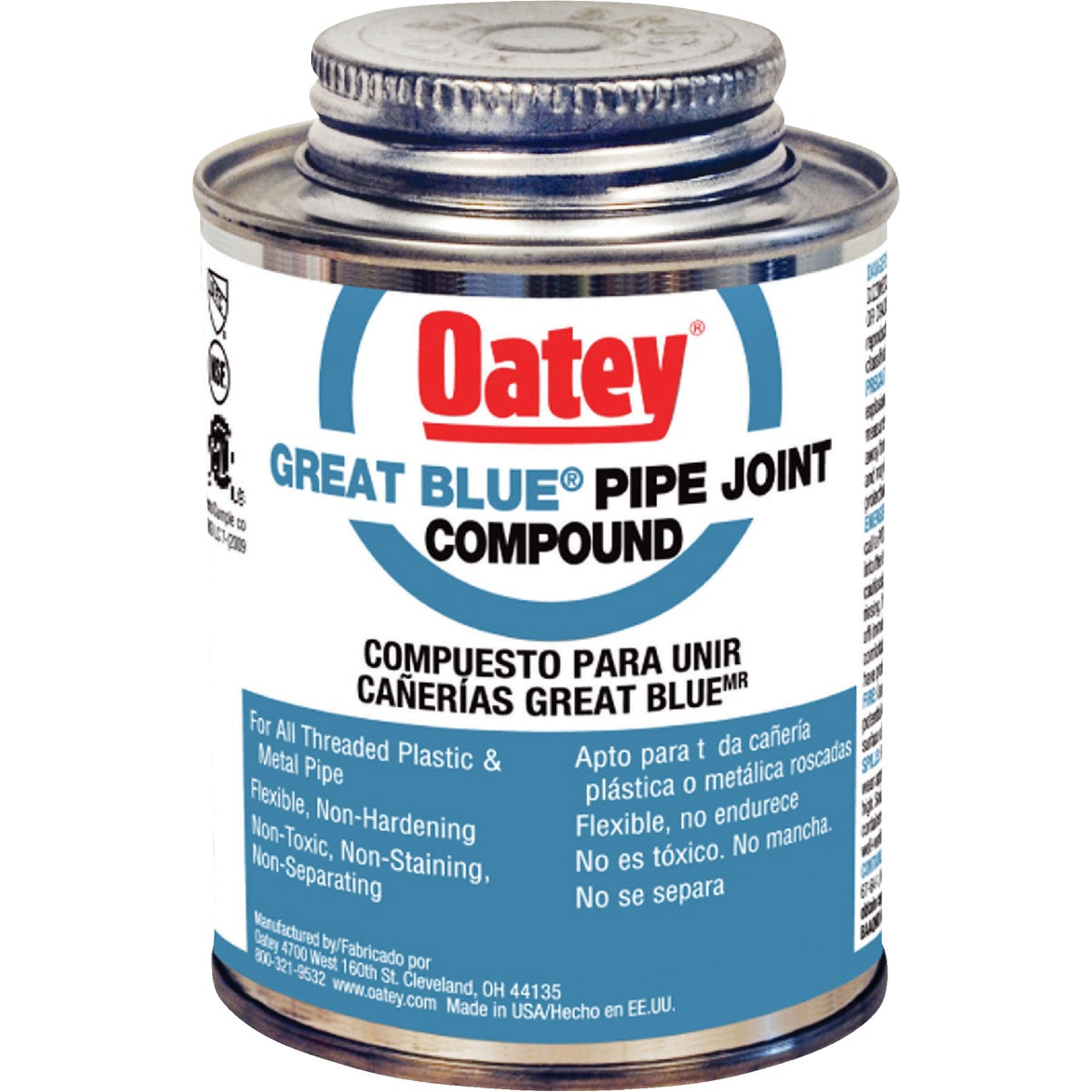 4OZ PIPE COMPOUND - 31261 by Oatey Scs