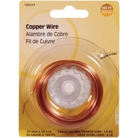 Hillman Fastener Corp 100' 24G COPPER WIRE 123111