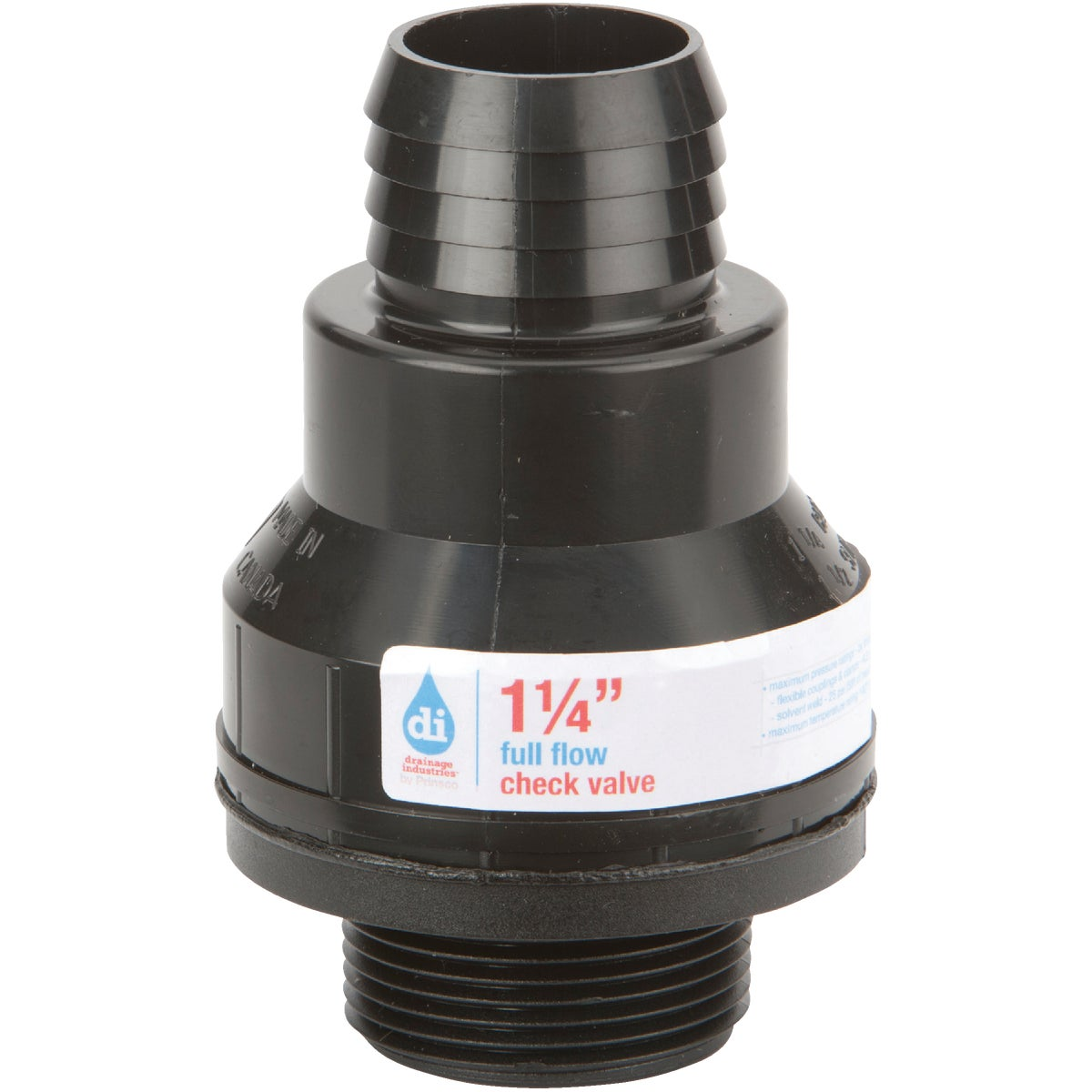 "1-1/4"" CHECK VALVE - 2451 by Drainage Industries"