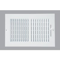 Do it Best Imports 6X10 WHT WALL REGISTER 2SW1006WH-B