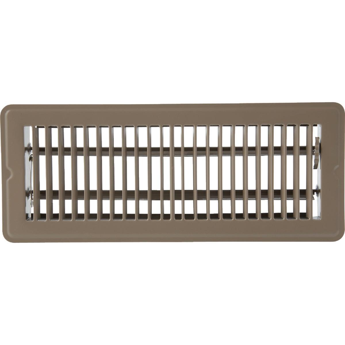 Home Impressions Steel Floor Register, 1FL0212BR-NH