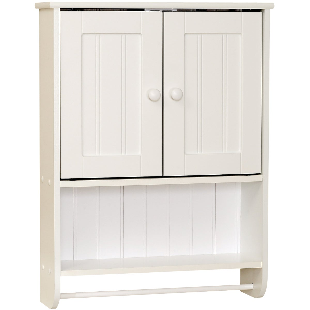 WHT COTTAGE WALL CABINET - 9114W by Zenith Prod Corp