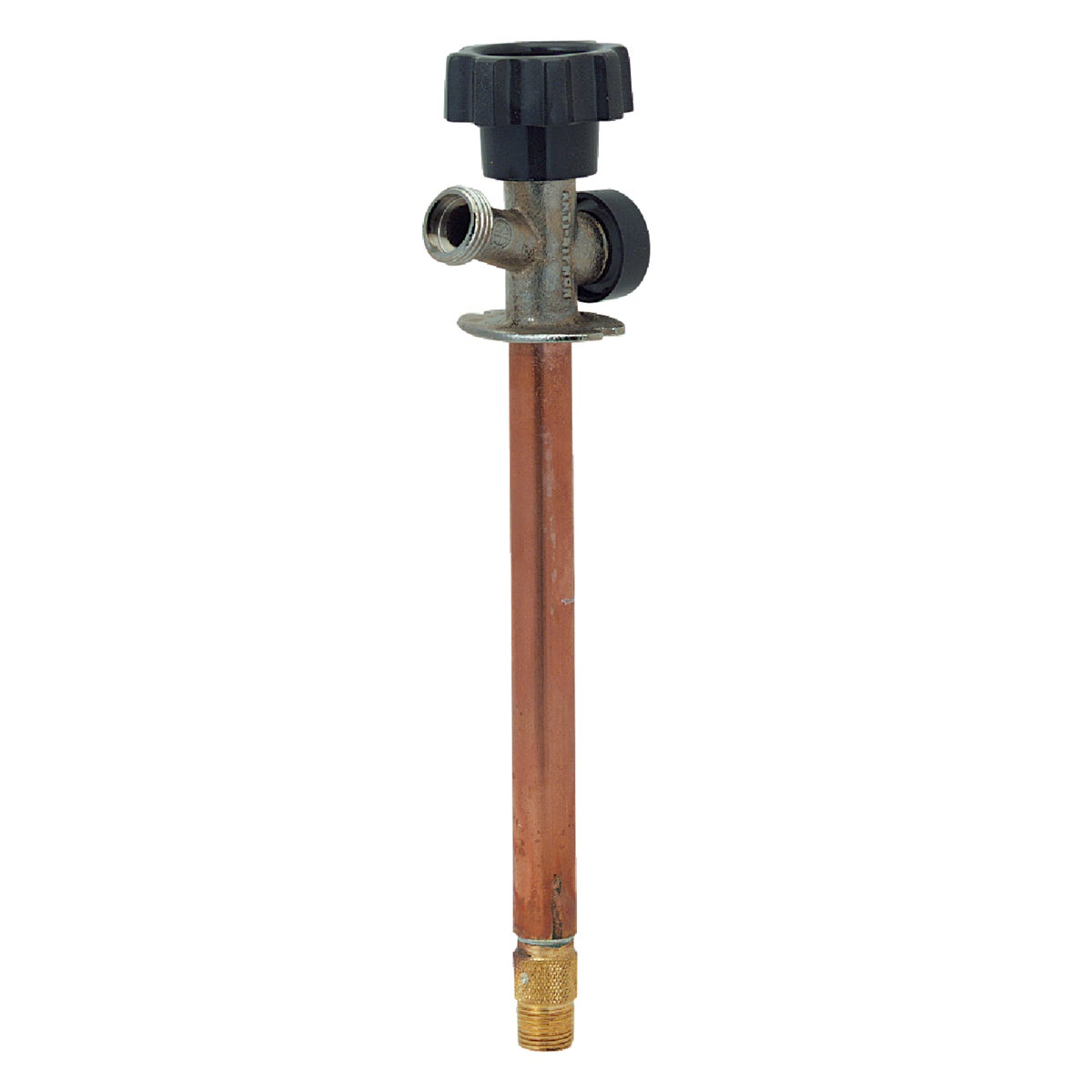 Prier 1/2 In. SWT X 1/2 In. IPS Anti-Siphon Frost Free Wall Hydrant, 478-08
