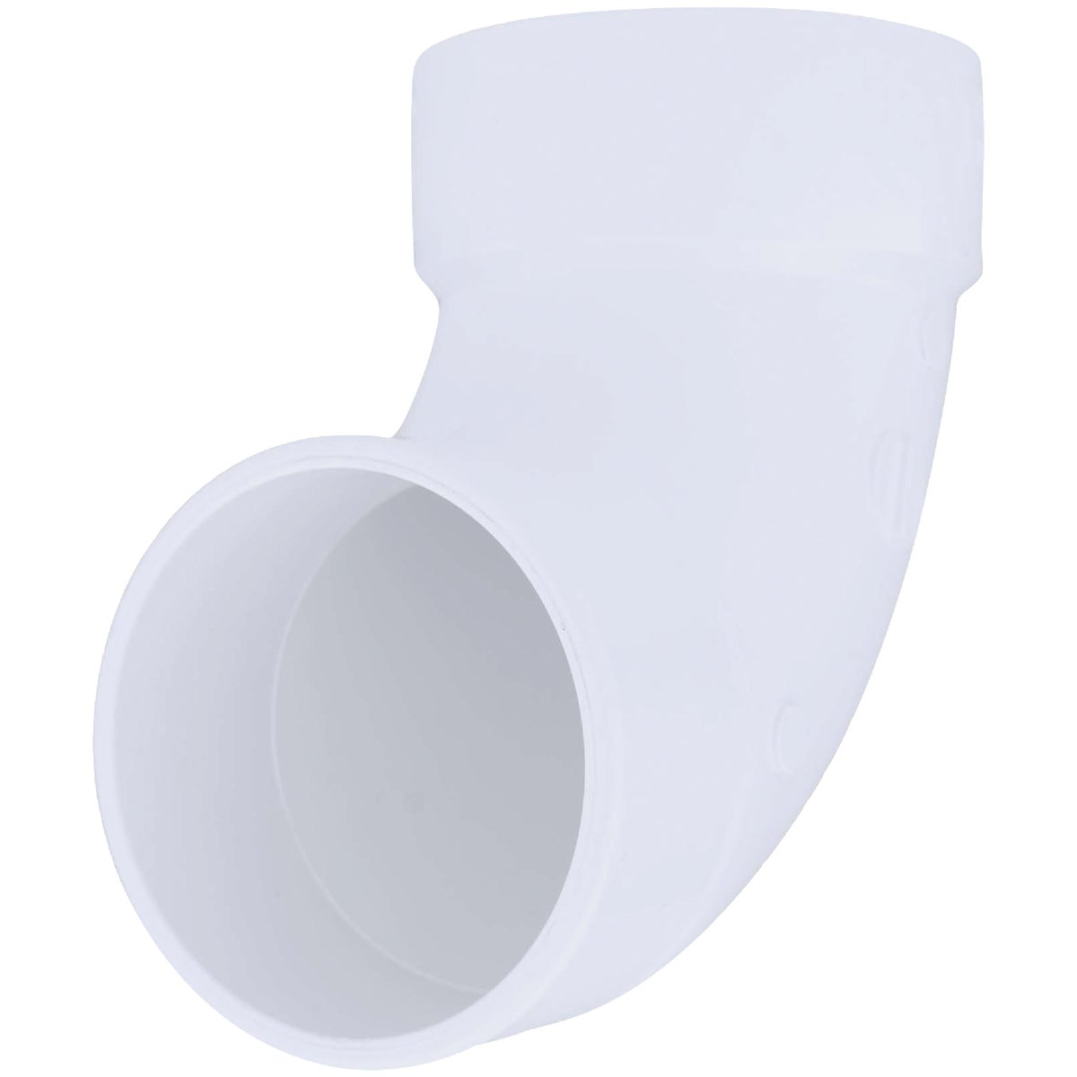 "4""90D DWV SANI STR ELBOW - 72946 by Genova Inc  Pvc Dwv"