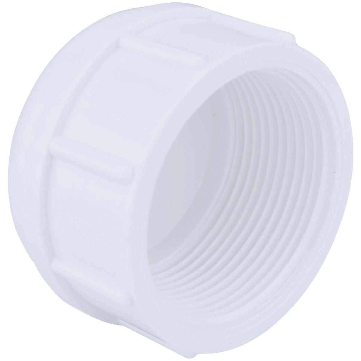 "1-1/2"" PVC SCH40 FIP CAP - 30161 by Genova Inc"