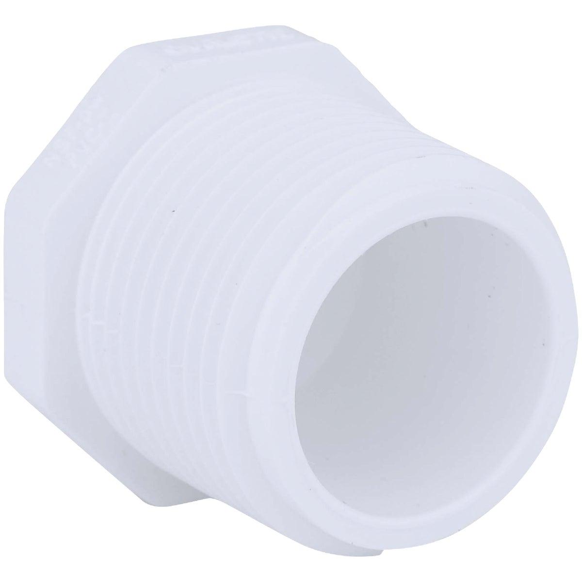 """1"""" PVC SCH40 MIP PLUG - 31810 by Genova Inc"""