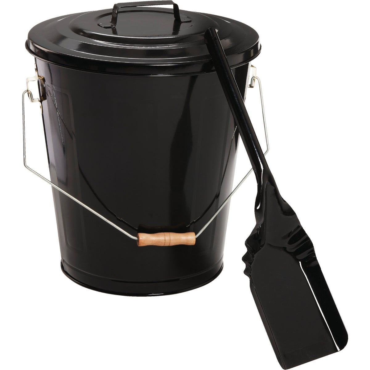ASH CONTAINER & SHOVEL