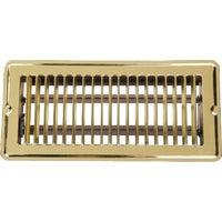 Home Impressions Stamped Brass Floor Register, 1FL0410BB-NH