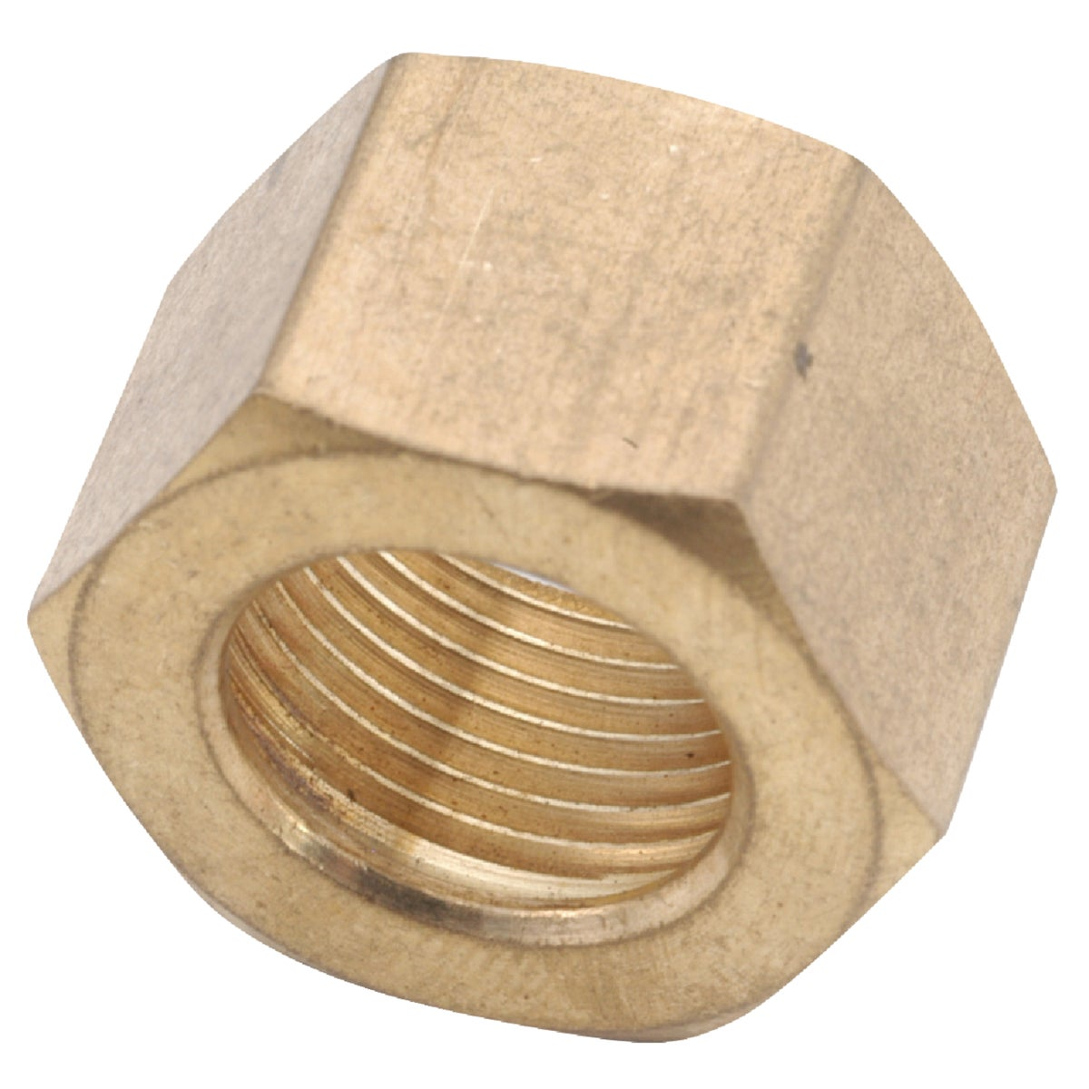 "1/4"" COMPRESSION NUT - 30061-04 by Anderson Metals Corp"