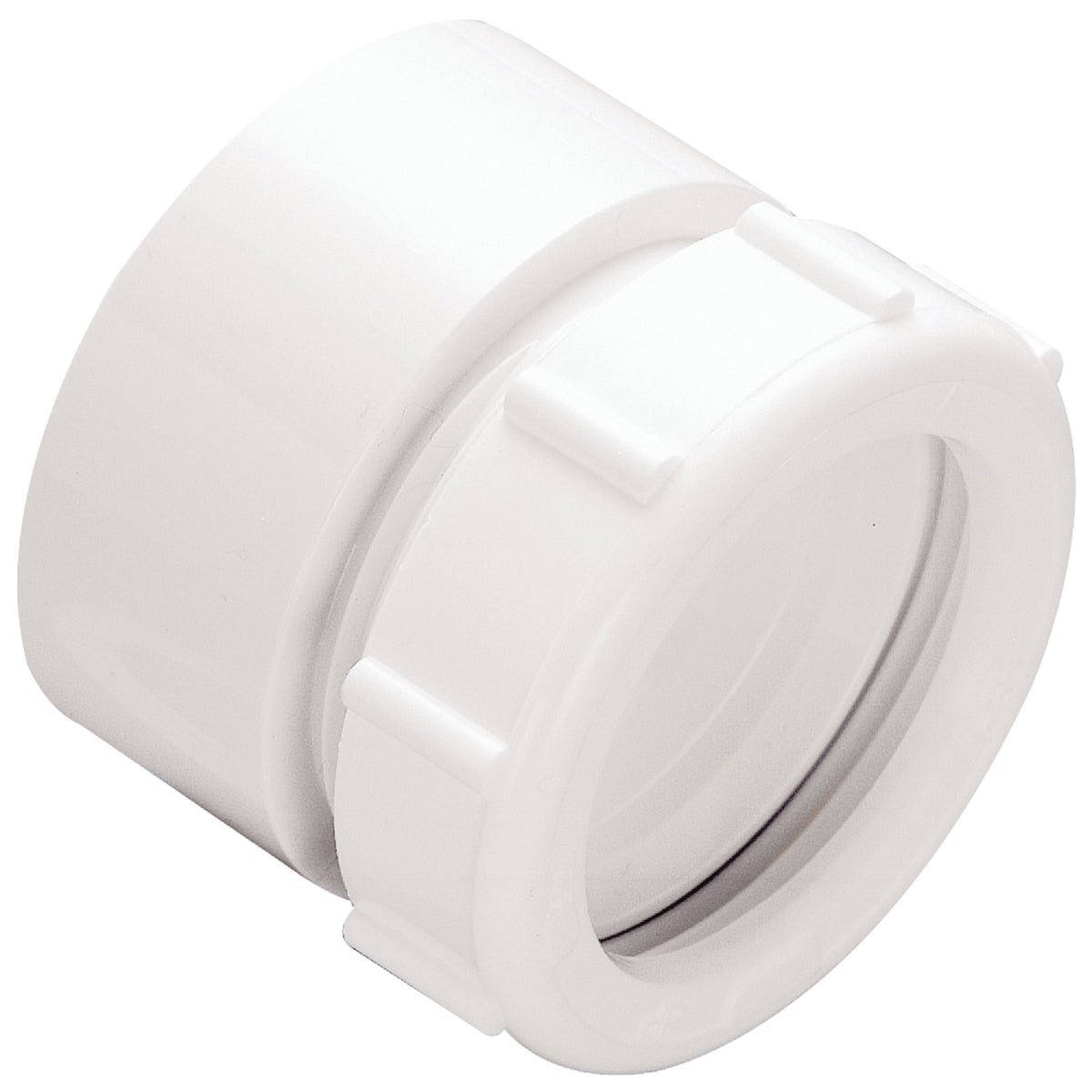 "1-1/2"" PVC TRAP ADAPTER - 416071 by Plumb Pak/keeney Mfg"