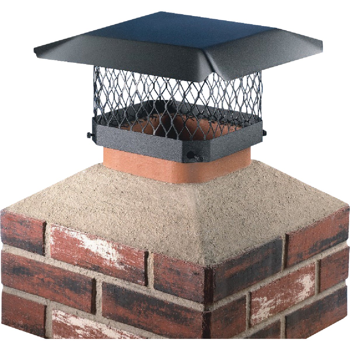 BLACK CHIMNEY COVER
